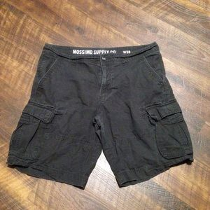 5/$15 Black Cargo Shorts GUC